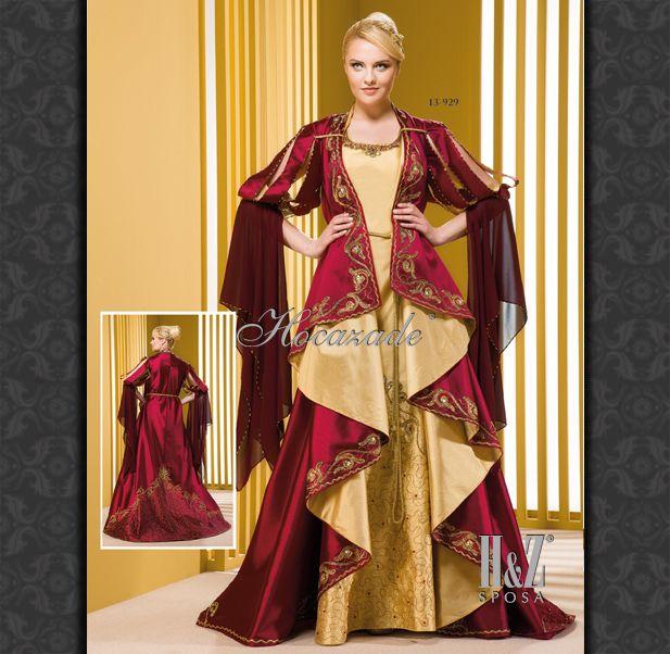 Hocazade Caftan ; turkish Henna Night dress ; www.hz.com.tr