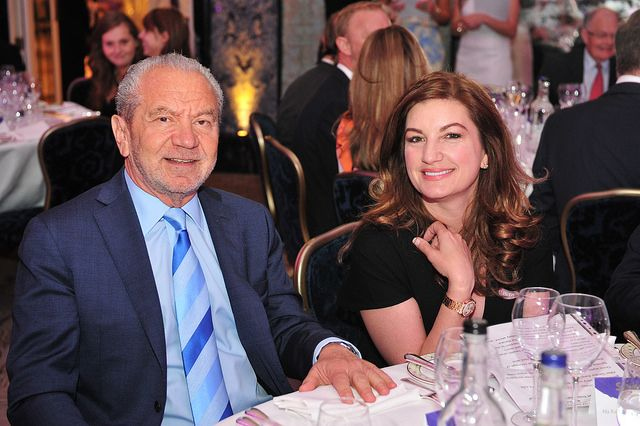 Baroness Karren Brady & Lord Alan Sugar attend Stroke Association's Life After Stroke Awards on 12 June 2014