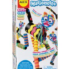 Create A Marionette - Kitty - Green Ant Toys http://www.greenanttoys.com.au/shop-online/art-and-craft-toys-online-toy-store/craft-toys/create-a-marionette-kitty/
