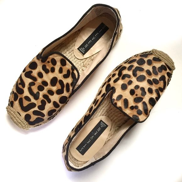 Steven by Steve Madden Lanii Leopard Espadrilles A gorgeous leopard print calf hair shoe that will be a spring and summer staple in your closet! I bought these new but they are just too small for me (they run a little small). I have tried them on in my home but they have never been worn outside. They are very comfortable and perfect for exploring a new city. Sorry, no trades. Steven by Steve Madden Shoes Espadrilles