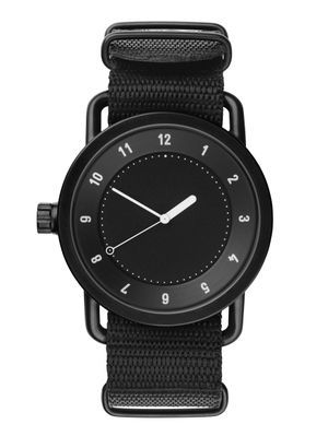 TID No.1 Black / Black Nylon Wristband • TID Watches • Tictail