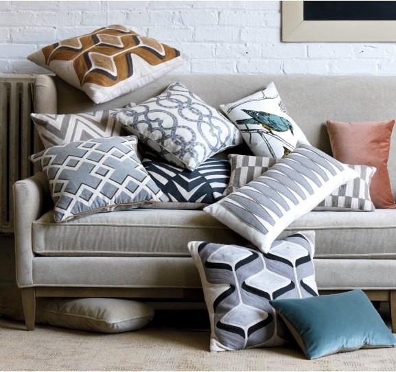 pillows & more pillows
