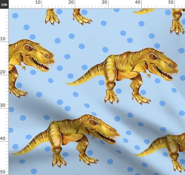 Farbenfrohe Stoffe Digital Gedruckt Von Spoonflower In 2020 Tyrannosaurus Tyrannosaurus Rex Baby