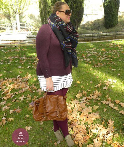 http://www.loslooksdemiarmario.com/2014/11/falda-temporal-bufanda-manta.html  asesoria online, bufanda manta aliexpress, curvy, falda asimétrica, look de otoño, los looks de mi armario, medias burdeos, mis looks, mujeres reales, outfit burgundy, primark, talla grande, tips faldas