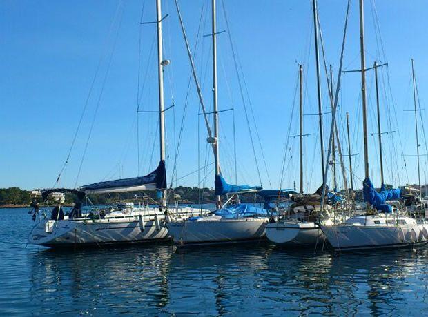 El velero Libertad atraviesa el Atlántico
