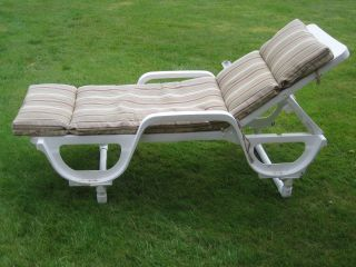 Pvc my wife wanted her chaise lounge raised diy for Pvc furniture plans