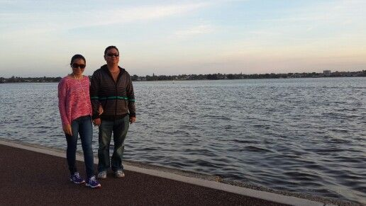 swan river...Perth.