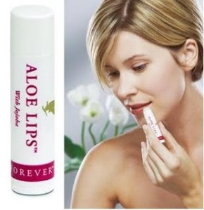 Forever Aloe Lips. The soothing properties of aloe vera are ideally suited to care for your lips. Aloe, jojoba and beeswax combine to create the finest all-season lip product on the market today. Forever Aloe Lips™ soothes, smoothes and moisturizes chapped and dry lips. Whether you are skiing, sunbathing, or enjoying the outdoors, its compact size makes it convenient to keep on hand. If your lips could talk, they'd ask for Forever Aloe Lips™!  Visit www.global-forever.com