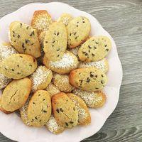 Recette sans lactose et sans gluten Madeleines aux amandes