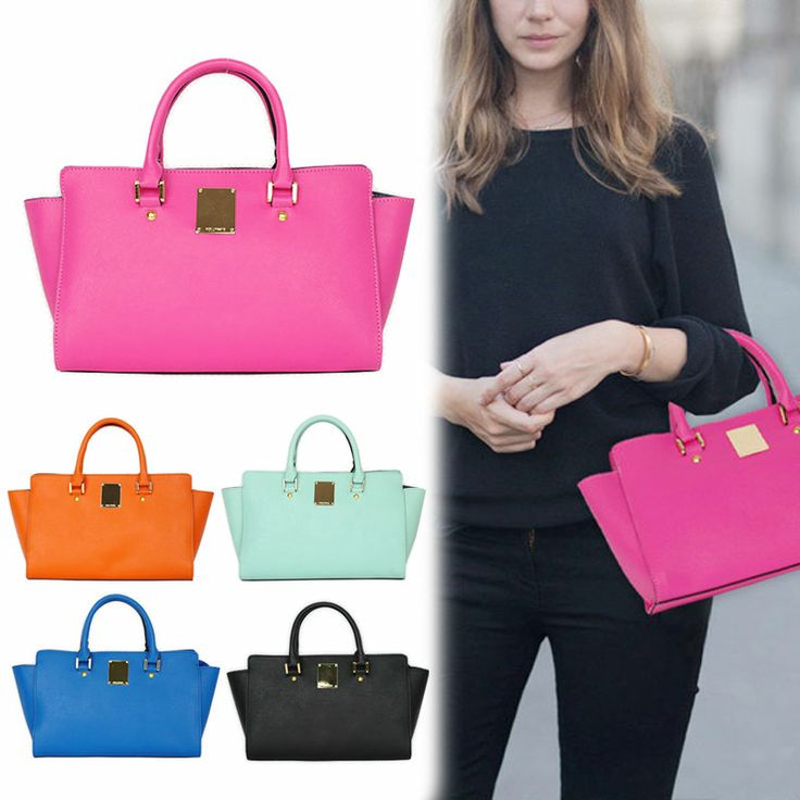 New Celebrity Style Womens Girl Handbag Tote Shoulder WOMEN Cross-Body Lady bags #Handmade #ShoulderBag