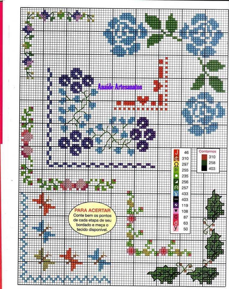 Anaide Вышивка крестом: Великолепная графика точечная крестообразная запрещено угол.