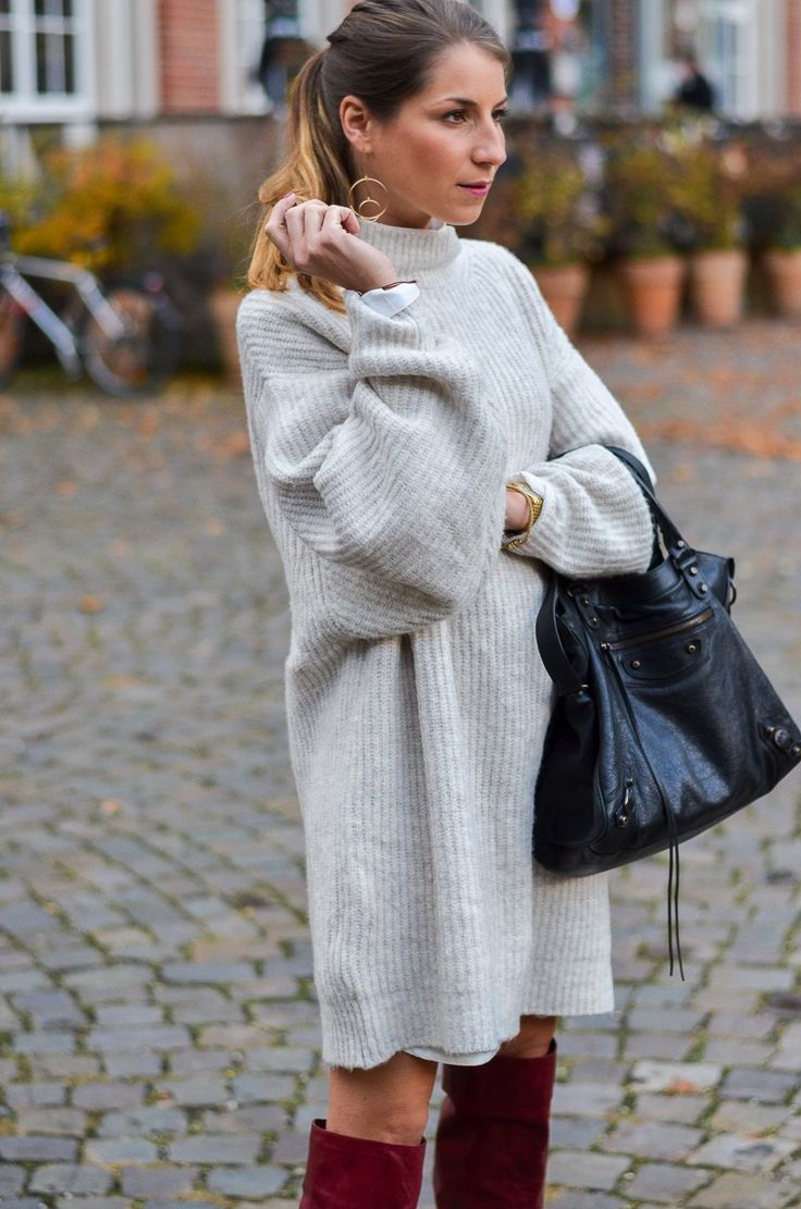 Outfit :: Zara Strickkleid // sweater dress