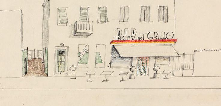 Una mostra al Politecnico di Milano celebra il disegnatore statunitense Saul Steinberg ripercorrendone gli anni milanesi e restituendo alcuni frammenti del suo lavoro.