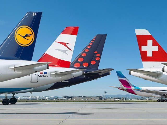 Groupe Lufthansa : 1,7 milliard d'euros de bénéfice en 2016