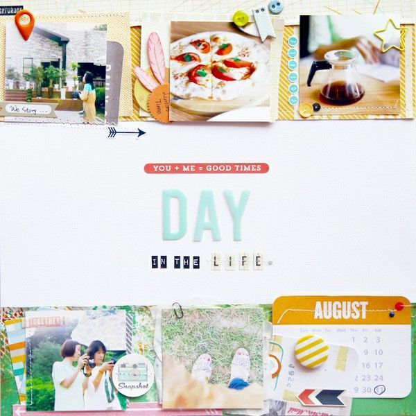 Day in the Life by jina b