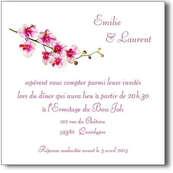 carte d invitation mariage texte