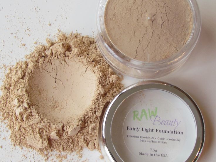 Natural Makeup -Best Natural Foundation-Fairly Light-RAW Beauty LLC by RAWBeautyLLC on Etsy https://www.etsy.com/listing/260001888/natural-makeup-best-natural-foundation