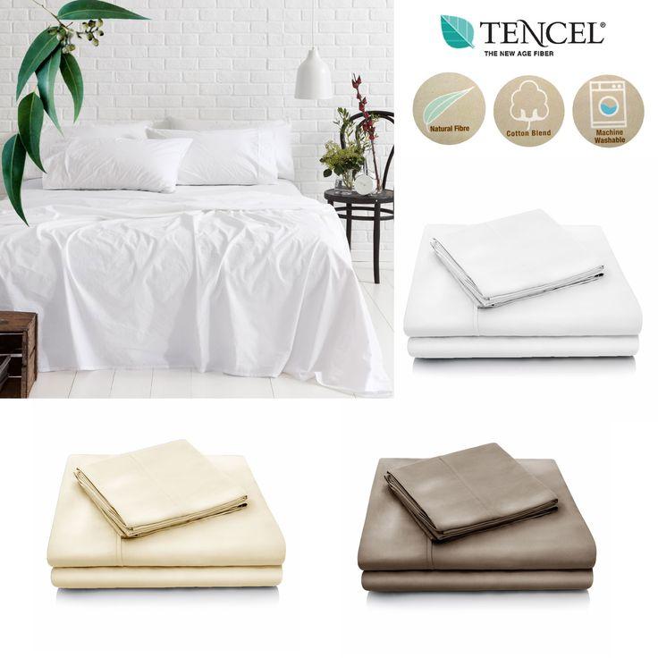 Tencel Cotton Blend Sheet Set by Accessorize