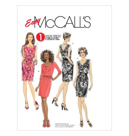 m6069  view cDresses Pattern, Mccall Pattern, Knits Dresses, Stretch Knits, Sewing Pattern, Pattern M6069, Easy To Sewing, Mccall M6069, Crafts