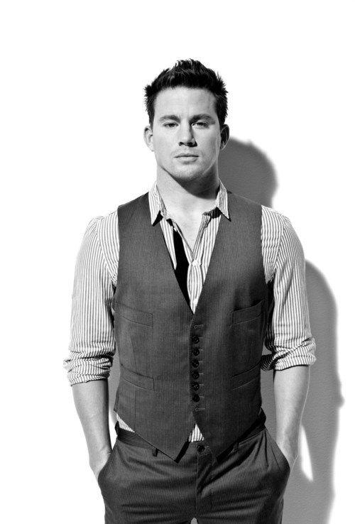 Channing Tatum in suit :D