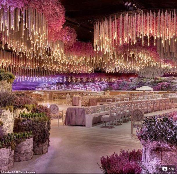 Luxus pur: Hochzeitsfeier der Superlative kostete eine Milliarde Dollar