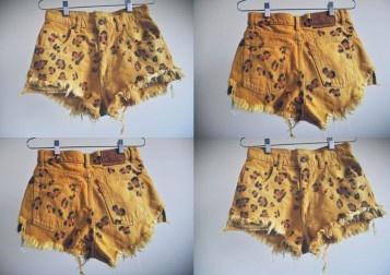 Mr. Kate | DIY style: leopard print shorts