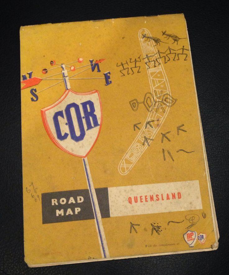 COR Road Map of Queensland Currumbin BP Petrol Station, Throwers Drive, Currumbin, QLD