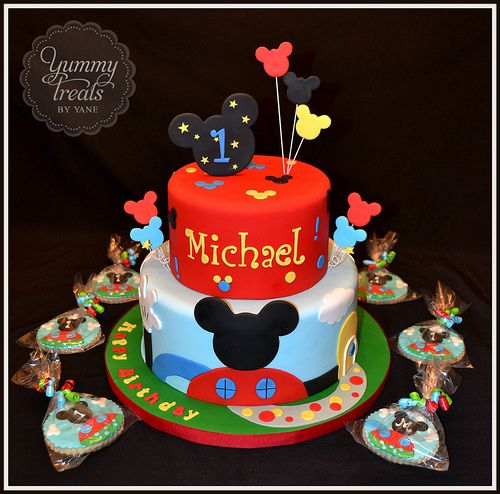 Mickey Cake and Cookies!