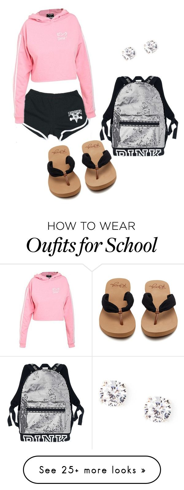 """school"" by dymerraluvsuxoxo on Polyvore featuring cutekawaii"