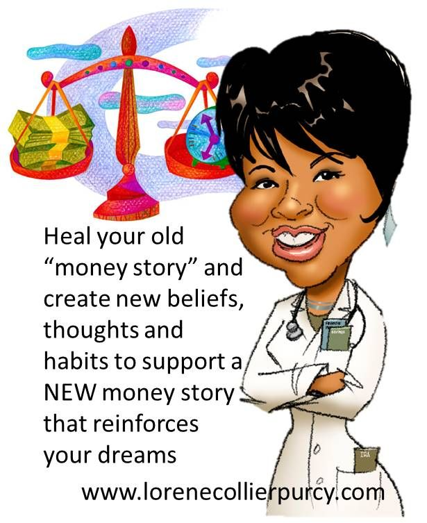 Heal your old #money story... #ontheblog #habits #mindset #rich #intentions #business - Lorene Collier Purcy