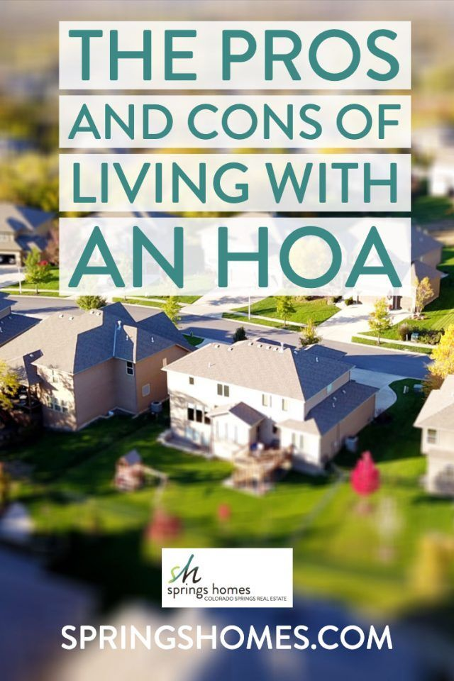The Pros And Cons Of Living With An Hoa 9 Yellow Gum Boulevard
