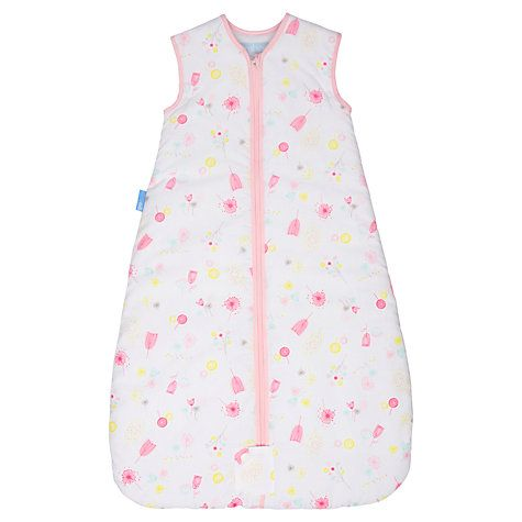 Buy Grobag Sunny Meadow Sleeping Bag, 0.5 Tog Online at johnlewis.com (comes with free room thermometer)