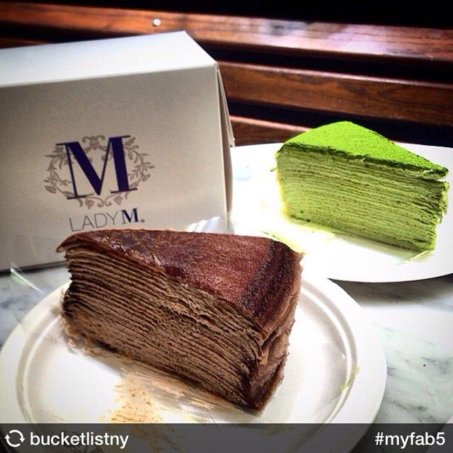 Lady M Green Tea Crepe Cake Recipe