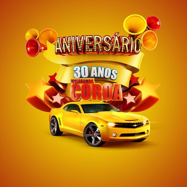 Comercial Coroa 30rd years on Behance