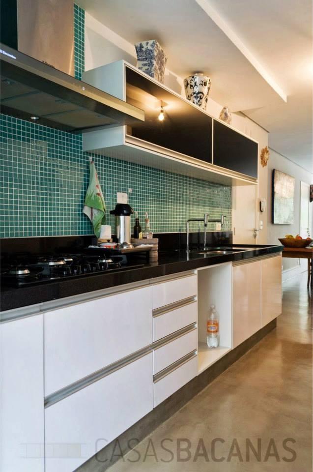 nicho aberto (solução para a cozinha)