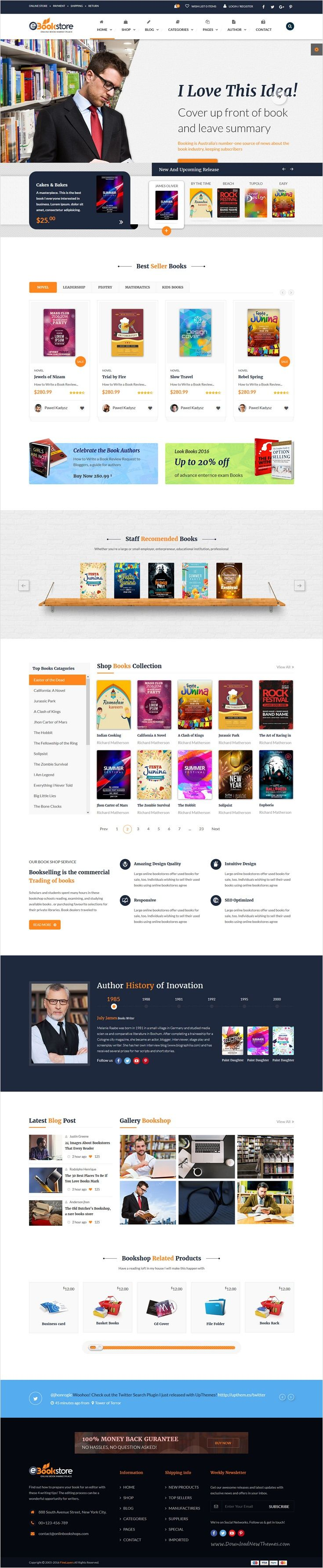 Book Store Html Template  Book Store