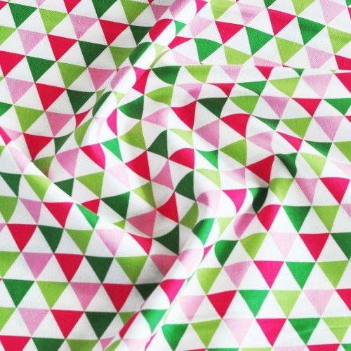 Tkanina bawełniana trójkąty Garden Robert Kaufman