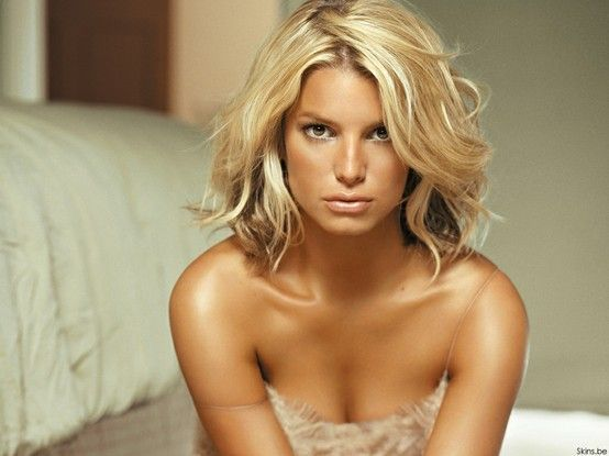 jessica simpson long bob. Love this bob. But I am too scared to cut off my long locks!