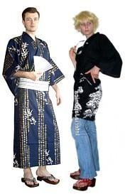 Традиционная японская одежда и обувь