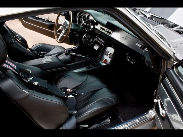 gone in 60 seconds | 1967 Mustang Fastback Gone in 60 Seconds Eleanor - Interior 2 ...
