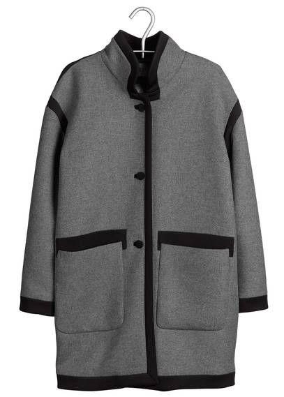 Manteau en laine  Gris by CLAUDIE PIERLOT