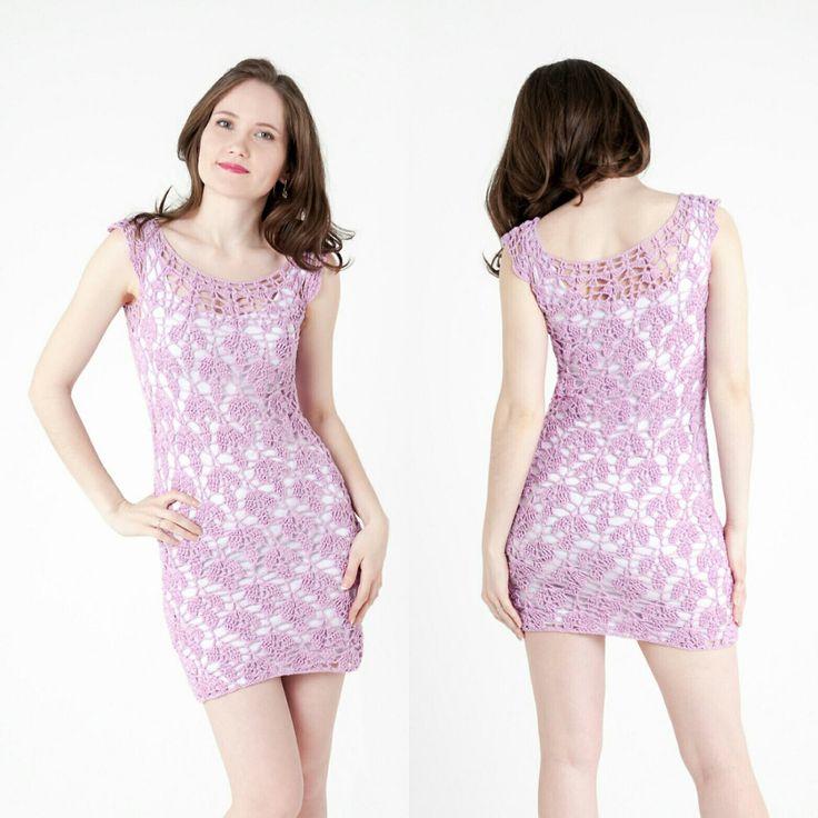 Crochet dress pattern Lily, Beach cover up, Crochet tunic, Crochet dress woman, Beach pool dress, Summer Beach Pattern, Summer dress, PDF
