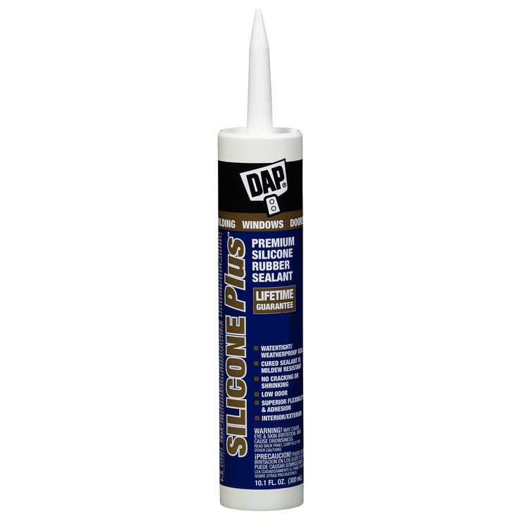Dap 0 10 1 Oz Clear Silicone Plus Premium Silicone Rubber Sealant Caulking Compounds Products Clear Silicone Windows Doors Silicone Rubber