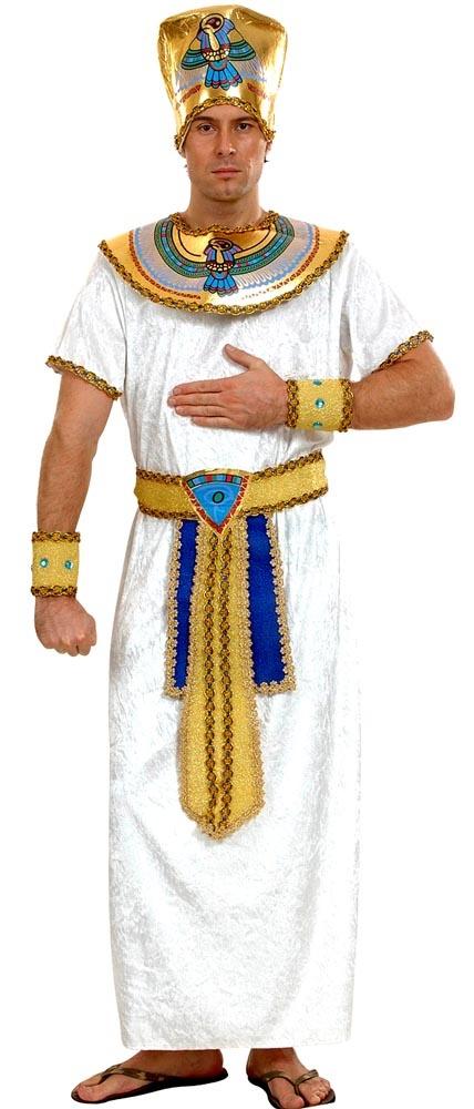 Prenez la place de Toutânkhamon grâce à ce superbe déguisement de pharaon de l'antiquité Egyptienne !