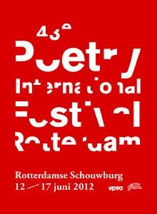 43e Poetry International Festival Rotterdam - Poetry International