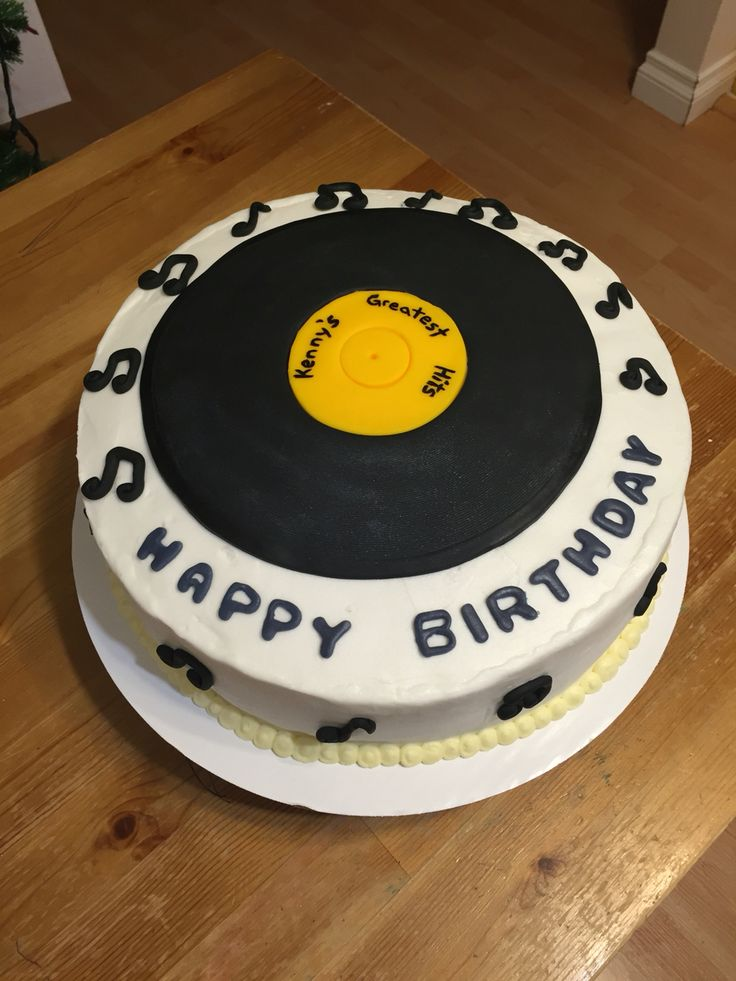 ... Record Cake on Pinterest  Piano Cakes, Music Cakes and Drum Cake