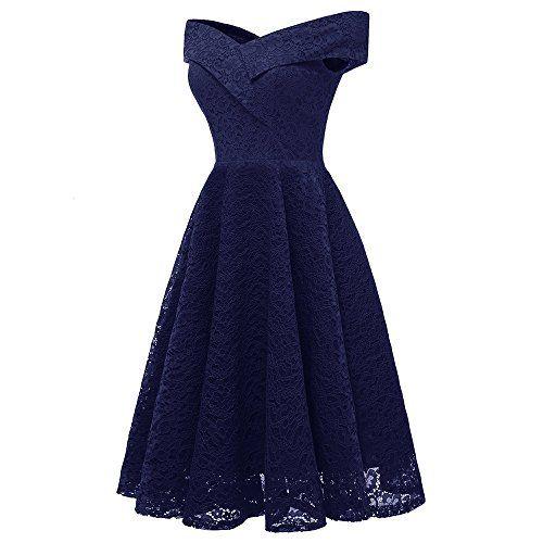 2b23da9a581ad Weant abito donna vestito Corti donna Eleganti da Cerimonia Hot gonna lunga  abito pizzo Chiffon Scollo