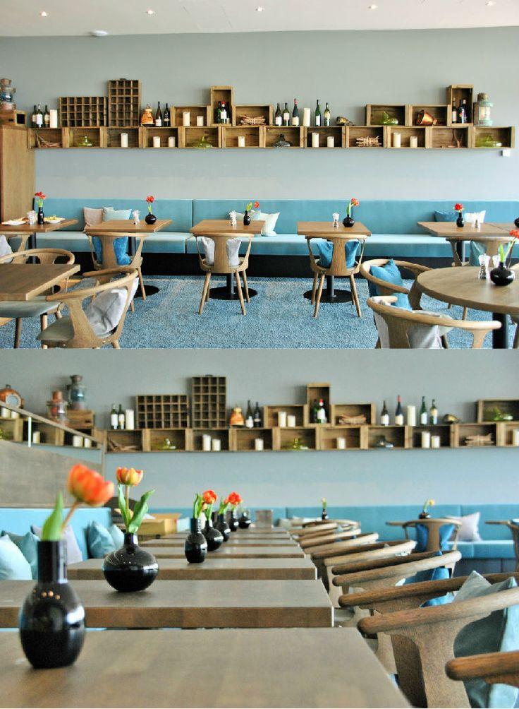 SeeHuus | Design Hotel | Germany | http://lifestylehotels.net/en/seehuus | restaurant, design, modern, maritime, blue