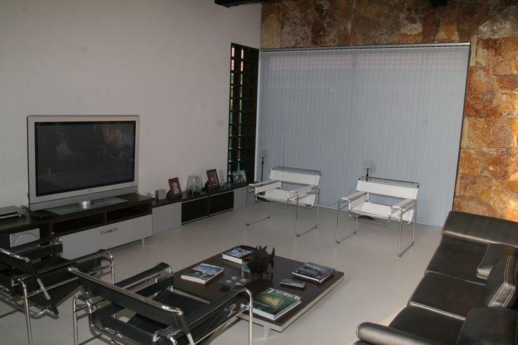 cortinas modernas de bandas verticales