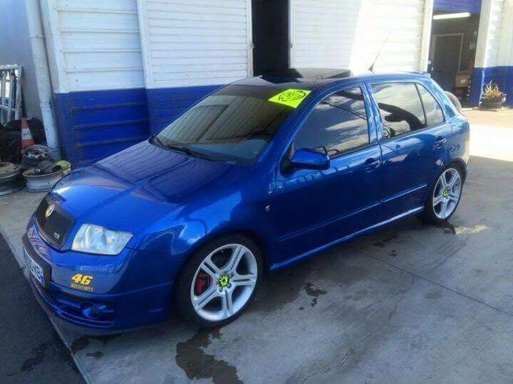 Fabia Vrs on Ibiza FR wheels